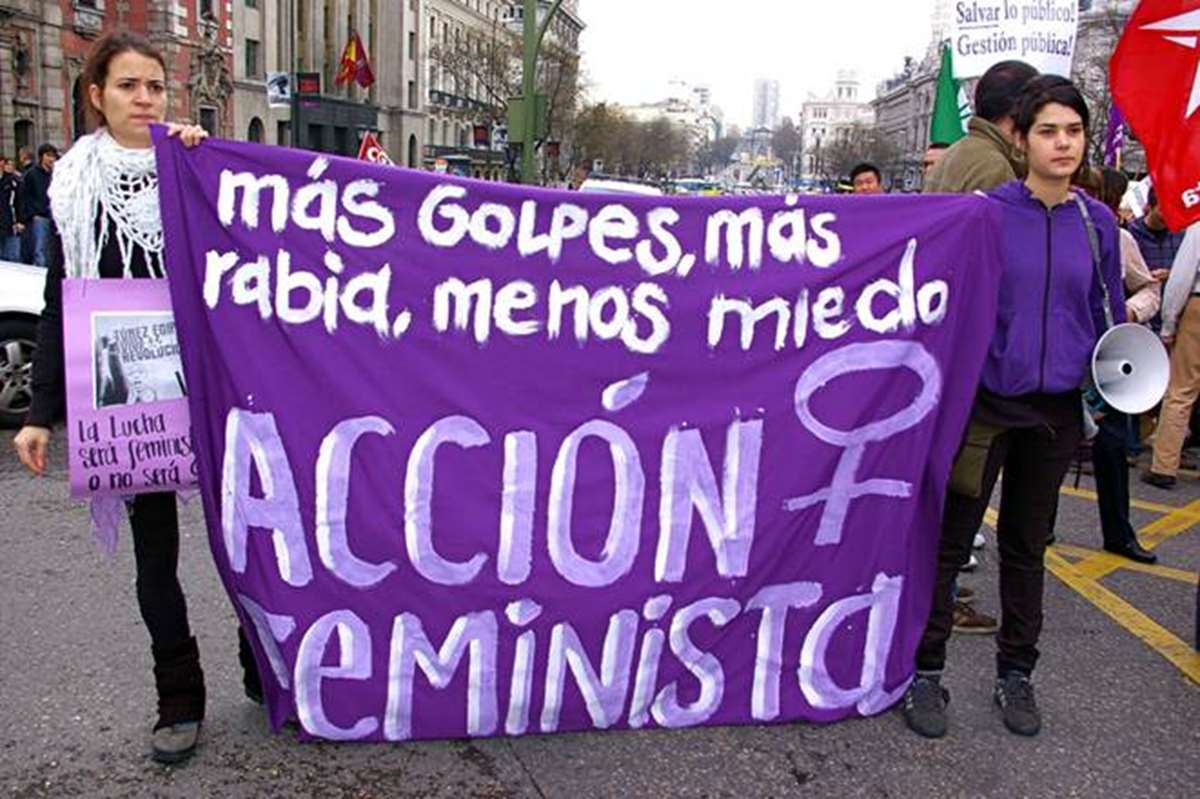 Manifestación feminista | Fotografía capturada por Gaelx: https://www.flickr.com/photos/gaelx/