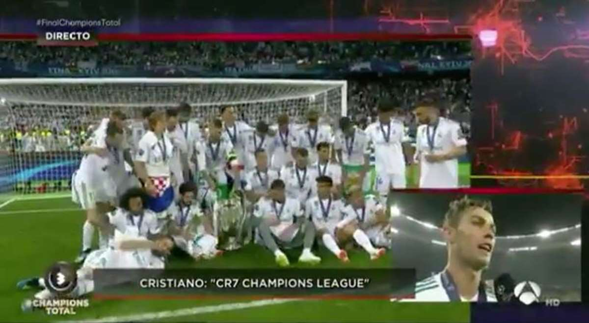 "Cristiano: ""La Champions debería llamarse CR7 Champions League"" (VIDEO)"