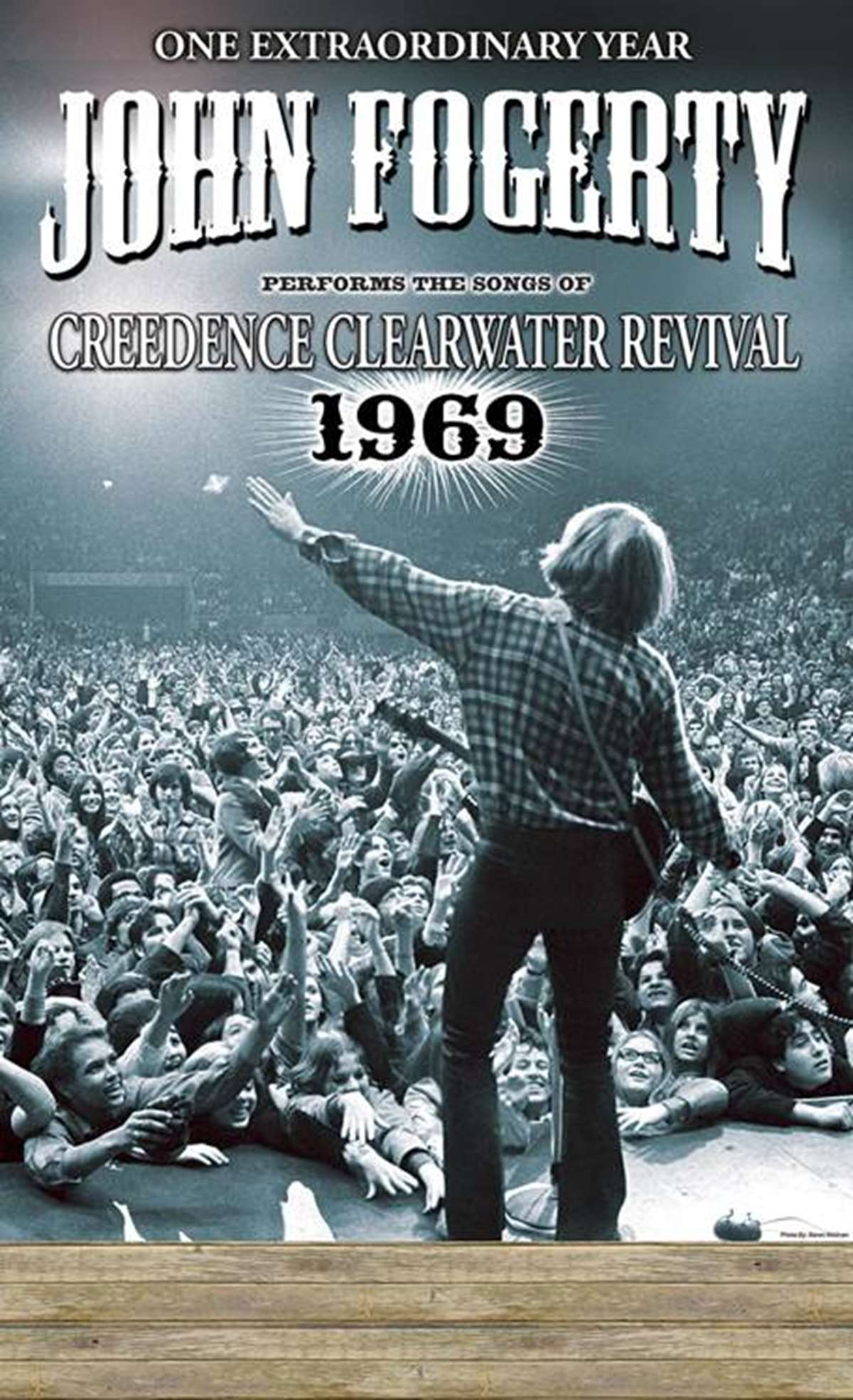 John Fogerty interpretará los grandes éxitos de Creedence Clearwater Revival.