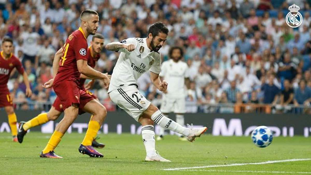 Real Madrid 3 - 0 AS Roma: Debut esperanzador en la competición europea