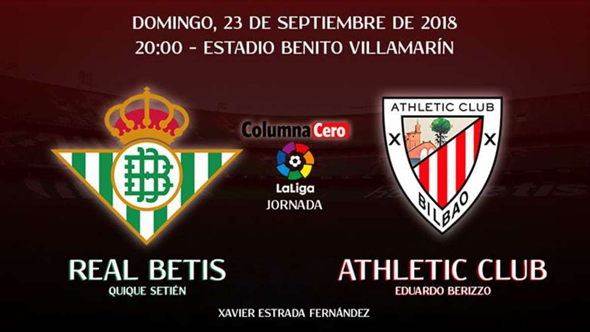 Real Betis-Athletic Club: en busca de la diana