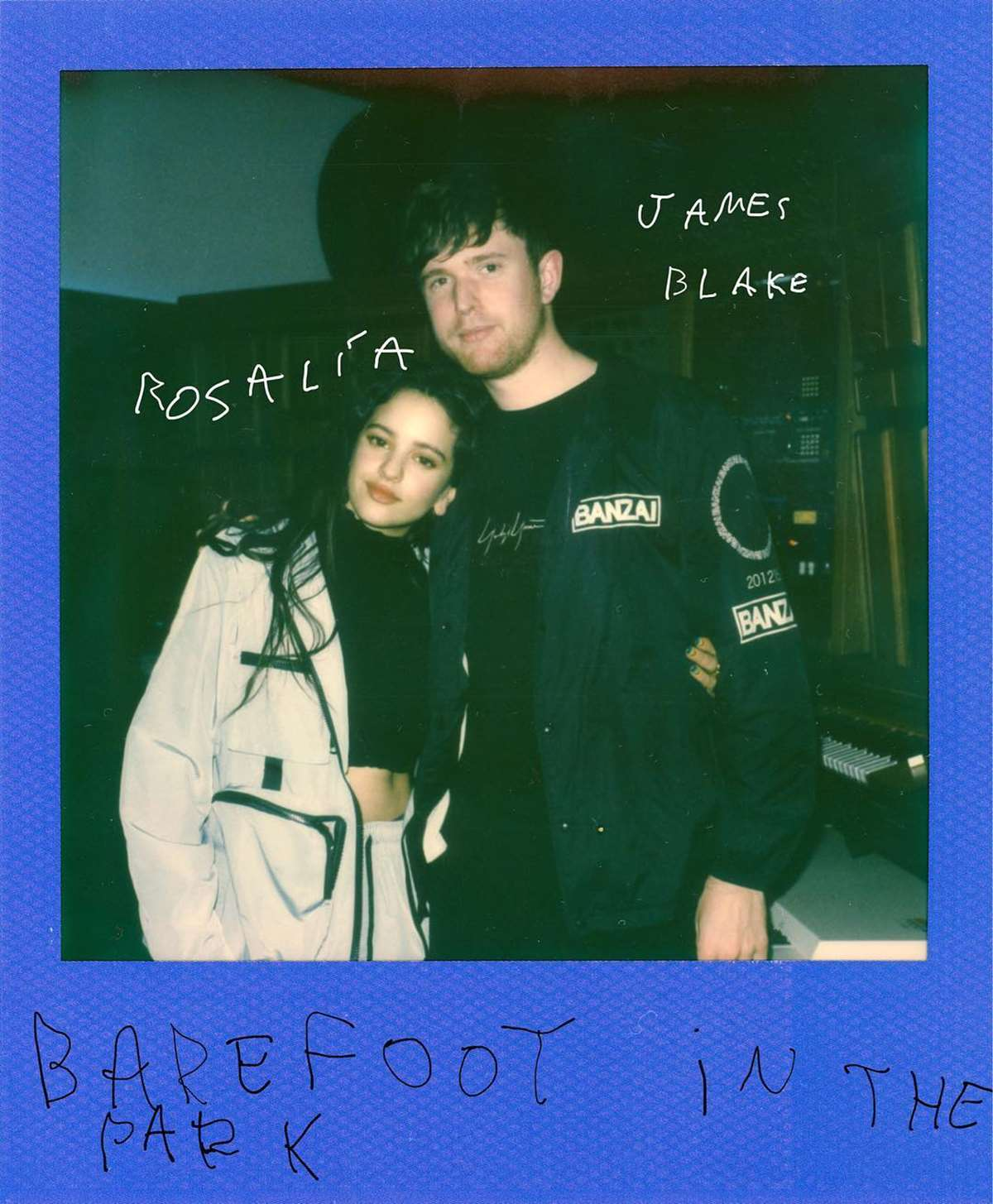 Barefoot in the Park, la exquisita unión entre James Blake y Rosalía