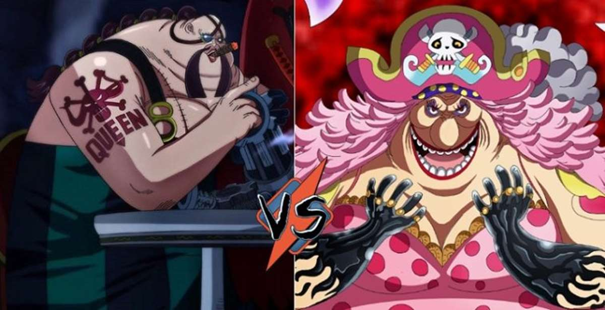 One Piece manga 938: ¡Big Mom pelea con Queen por la comida!