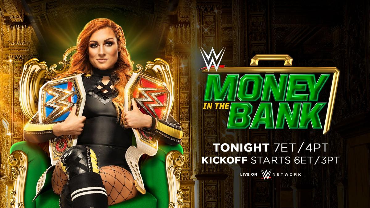 WWE: Cartelera final Money in the Bank
