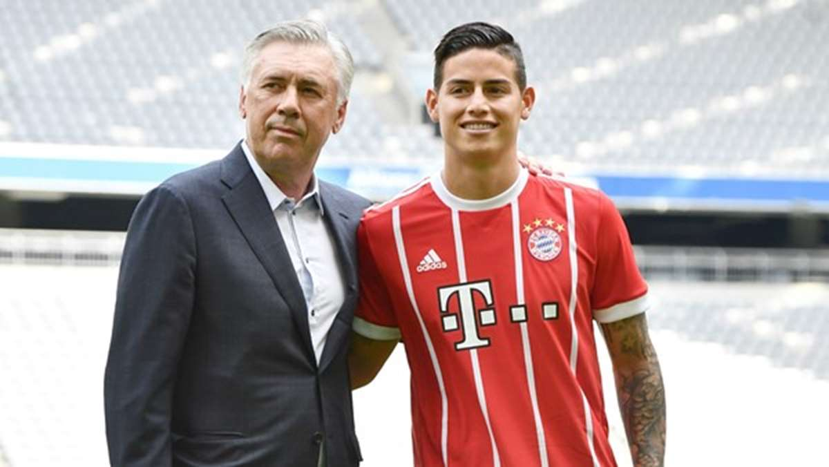 El Real Madrid quiere encontrarle destino a James Rodríguez en Italia
