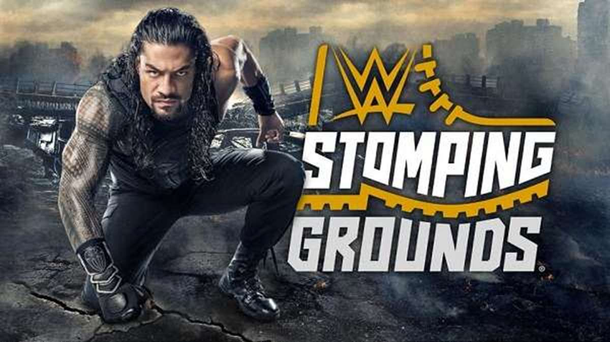 WWE: Cartelera final Stomping Grounds