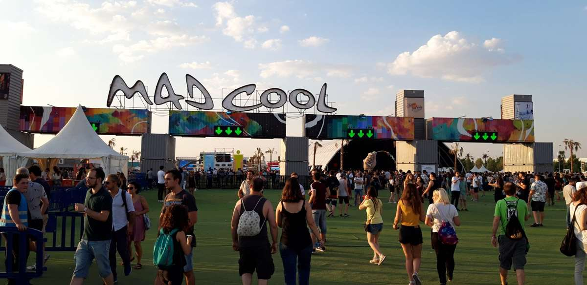 Arranca el MAD COOL FESTIVAL 2019