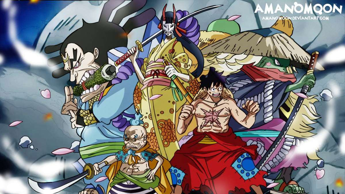 One Piece Manga 949: Luffy y The Red