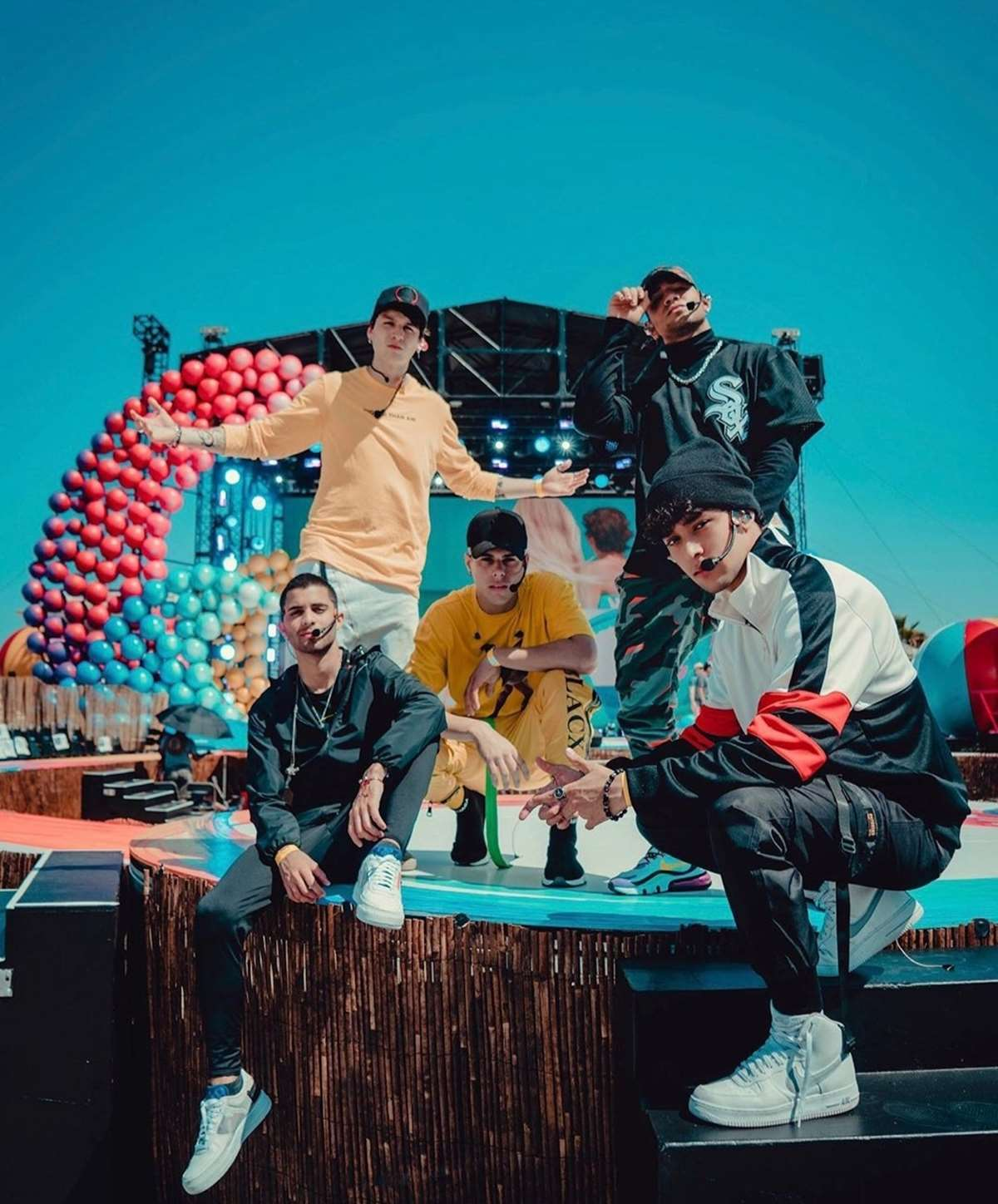 CNCO estará en la gala de los Teen Choice Awards 2019