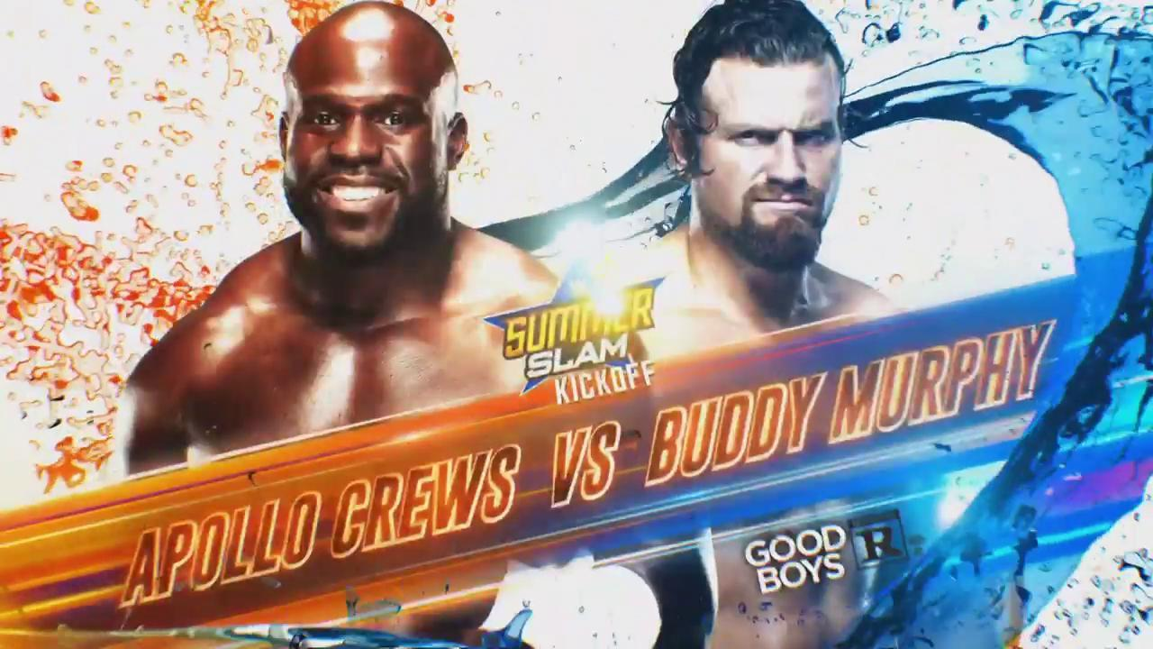 WWE: Rowan interrumpe el combate entre Buddy Murphy y Apollo Crews