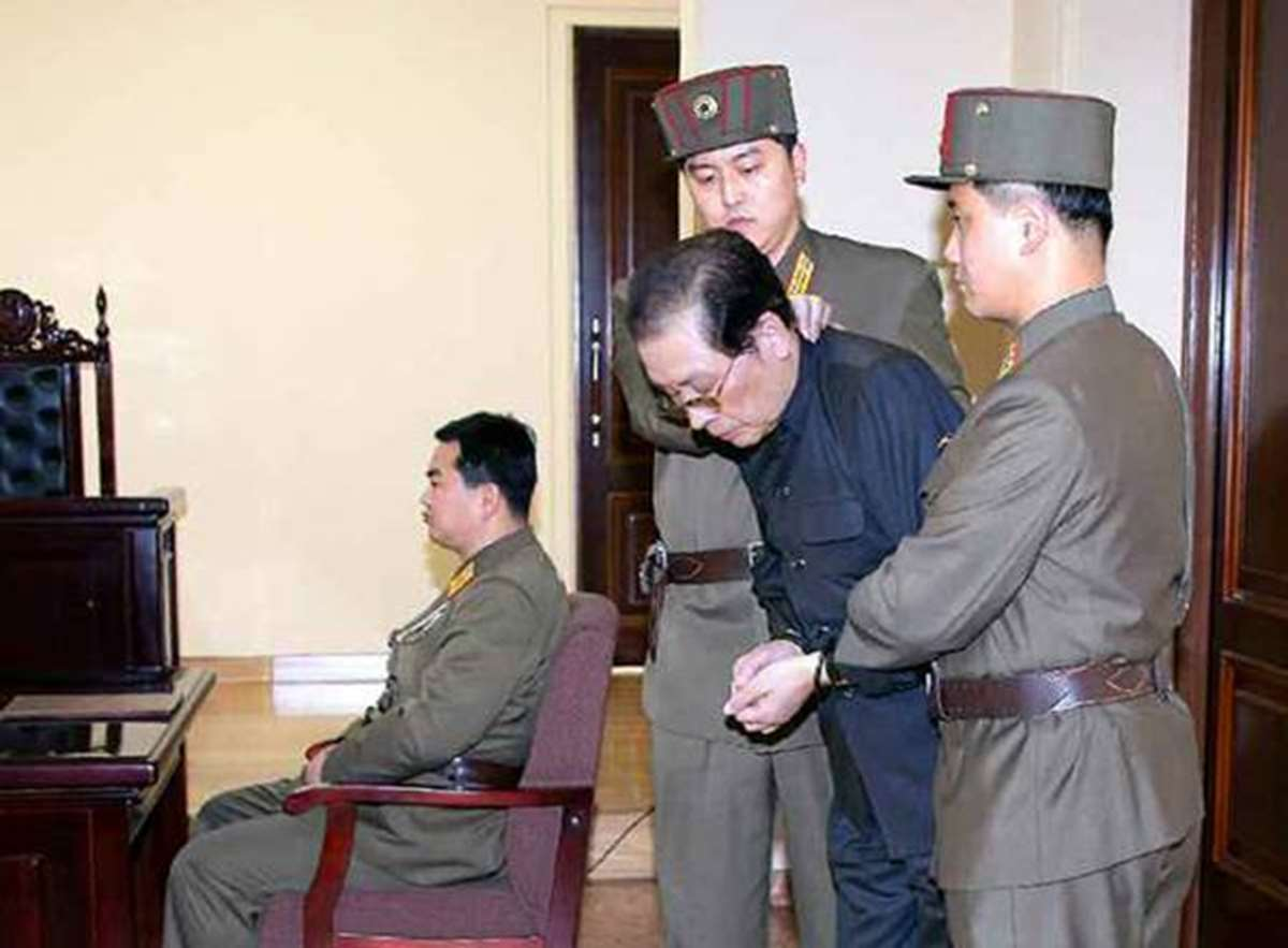 El tío de Kim, Jang Song-thaek.