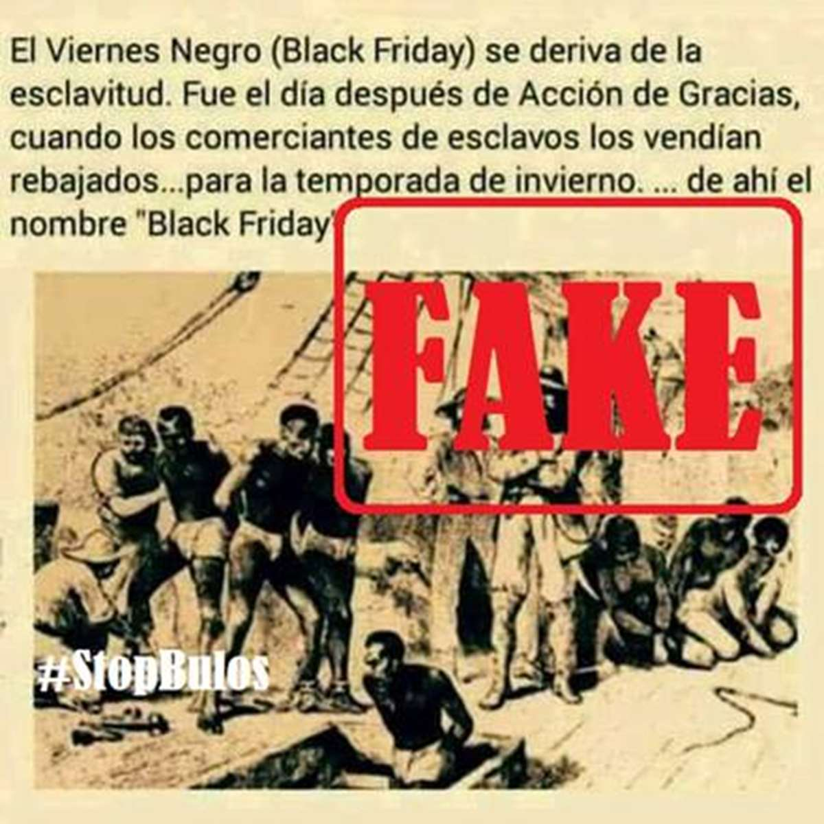 El fake más popular que corre por la red en las últimas horas