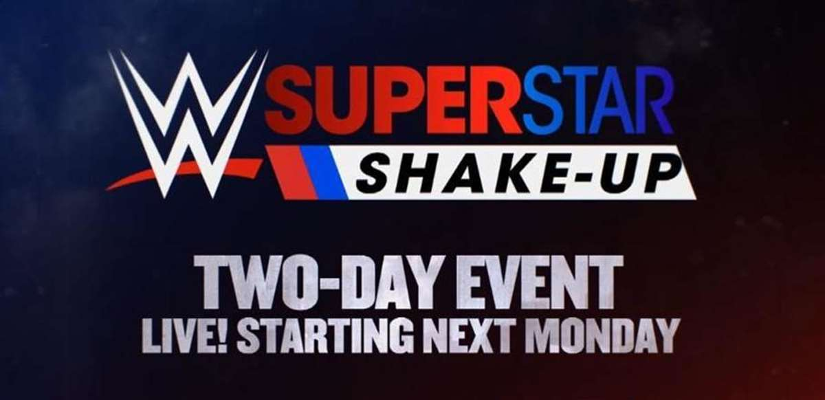 Cartel promocional del WWE Superstar Shake Up 2018 (WWE)