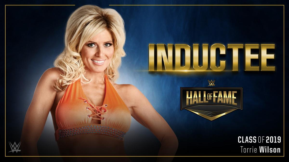 WWE: Torrie Wilson al Hall of Fame de WWE