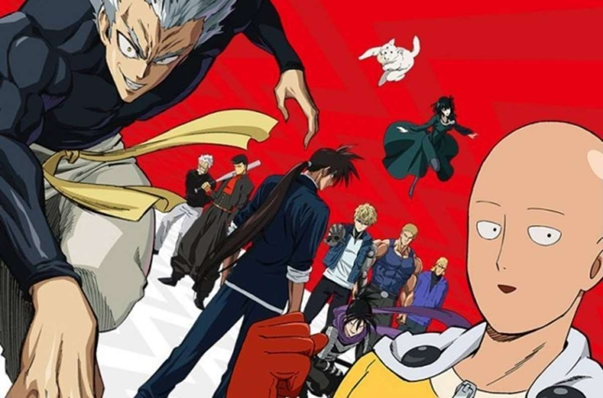 One Punch man temporada 2 capitulo 8
