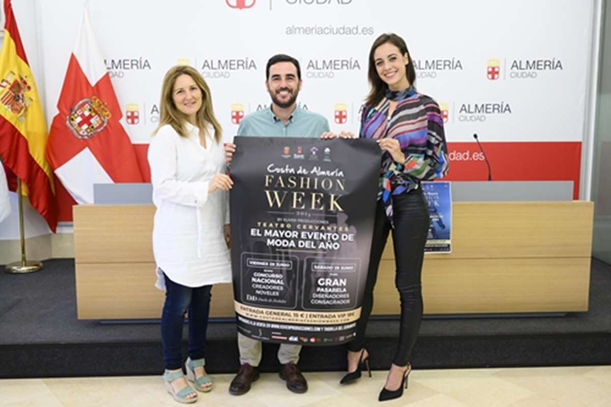 Modesto Lomba en la 'Costa de Almería Fashion Week'
