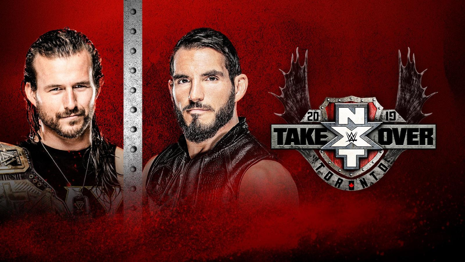 WWE: Cartelera final de NXT TakeOver Toronto 2019