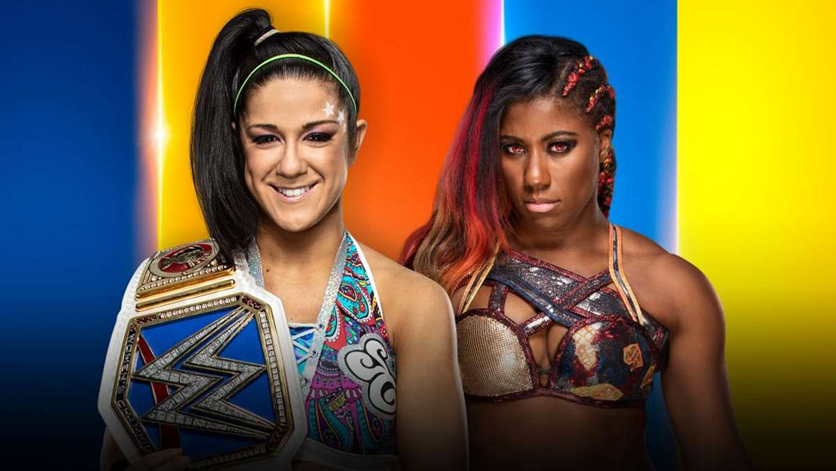 Bayley vs Ember Moon en SummerSlam 2019 (WWE)