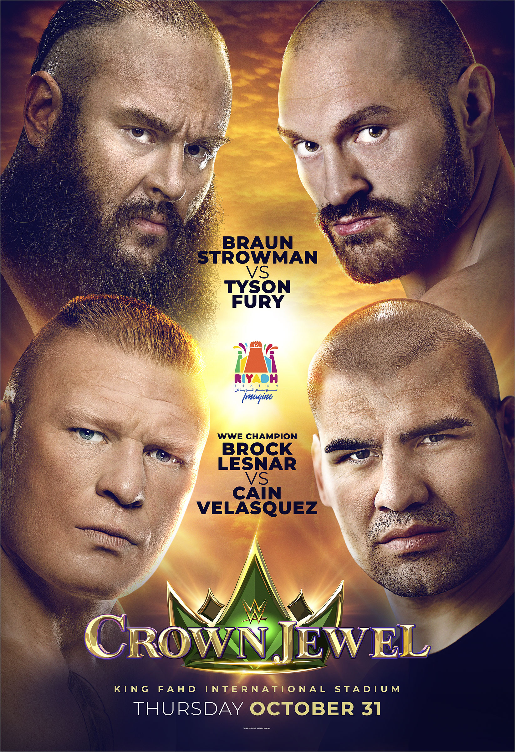 WWE: Nuevos combates para Crown Jewel