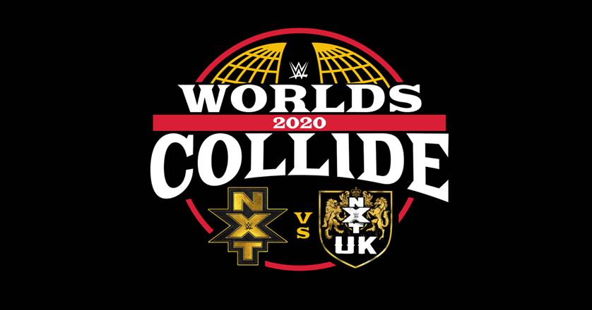 WWE: Cartelera final Worlds Collide 2020