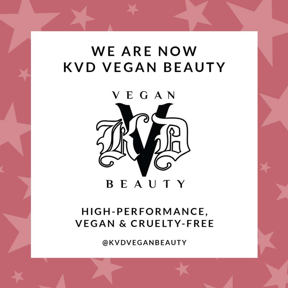 Kat von D Beauty pasa a ser KVD Vegan Beauty