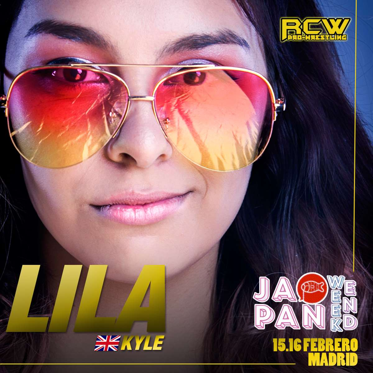 Lila Kyle anunciada por RCW para Japan Weekend