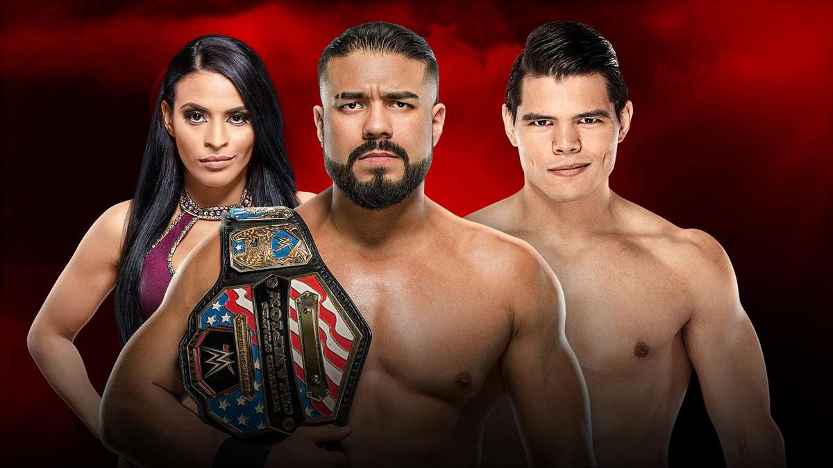 WWE: Andrade retiene el Campeonato de USA en Royal Rumble 2020