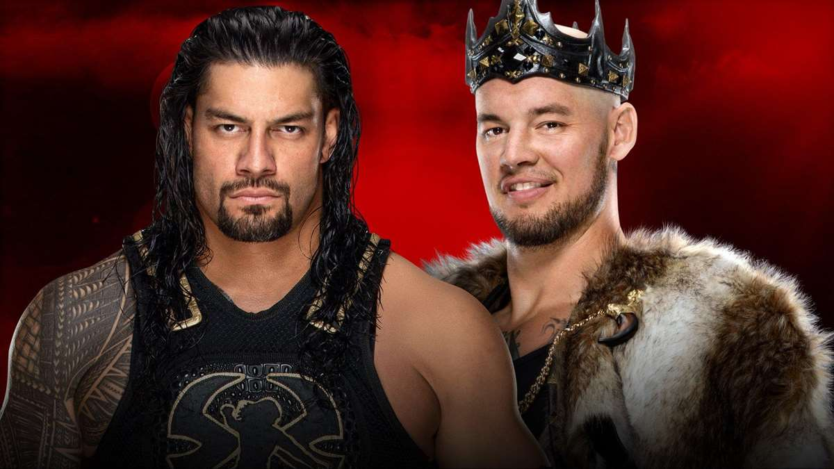 WWE: Roman Reigns vence a King Corbin en Royal Rumble 2020