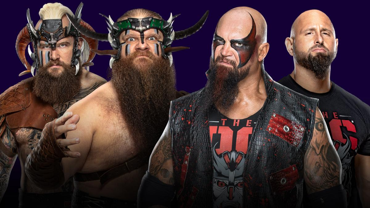 WWE: The O.C. vencen a The Viking Raiders en Super ShowDown 2020