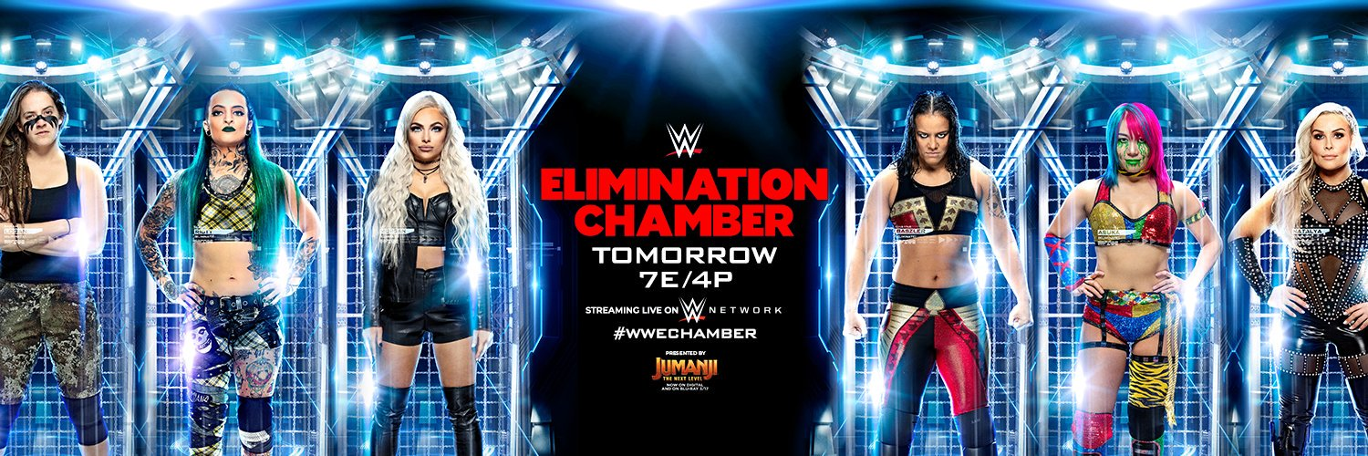 WWE: Cartelera final Elimination Chamber 2020