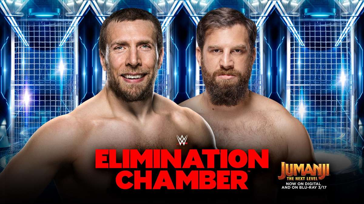Daniel Bryan vs Drew Gulak en Elimination Chamber 2020 (WWE)