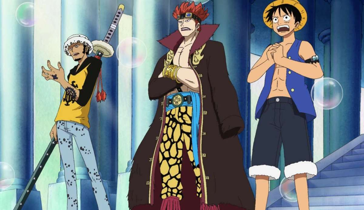 Manga 975 de One Piece: Luffy, Law y Kid contra Kaido