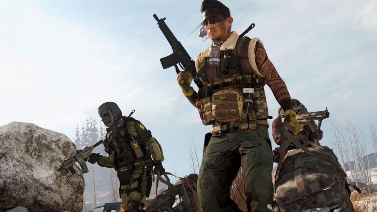 Call of Duty: Warzone, Squads filtrados, más una función Fortnite