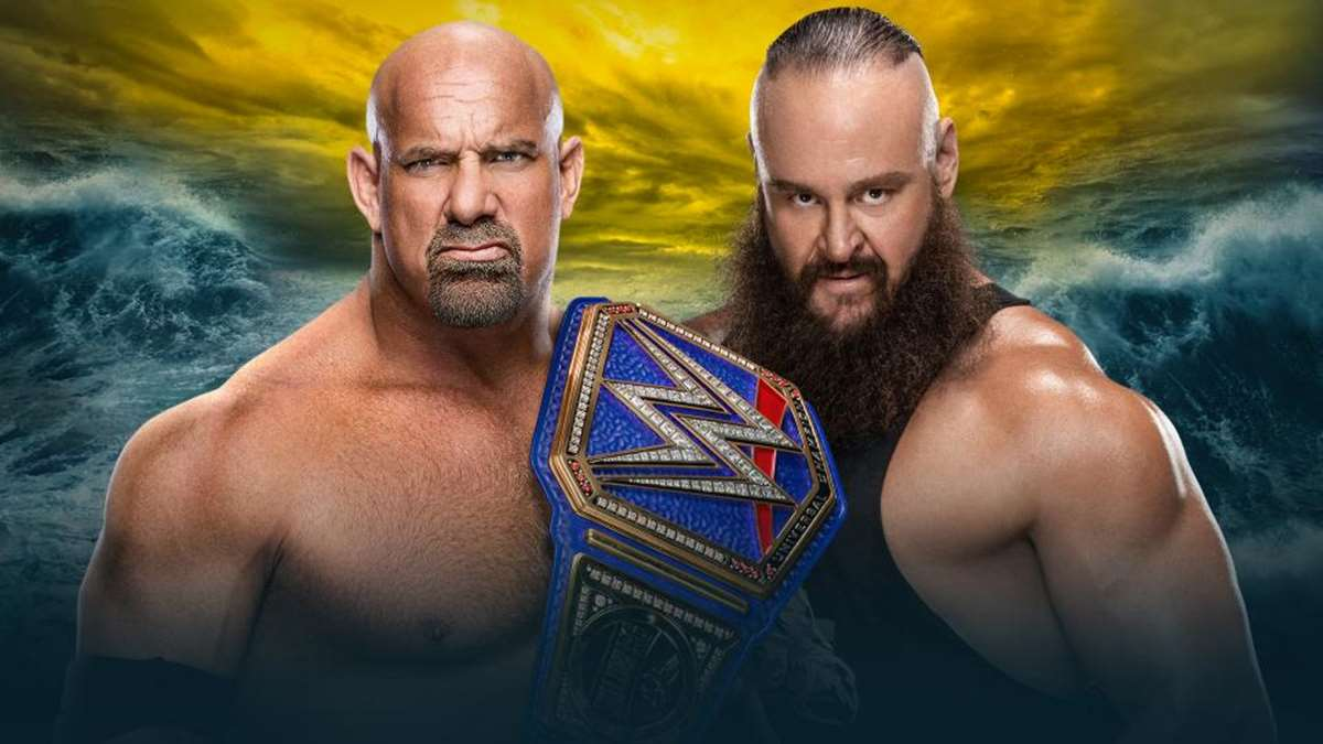 Goldberg vs Braun Strowman en Wrestlemania 36 (WWE)