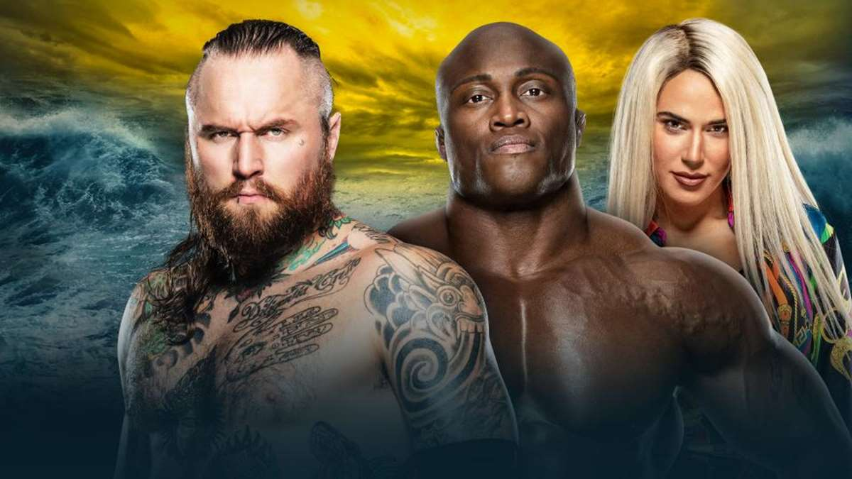 Aleister Black vs Bobby Lashley en Wrestlemania 36 (WWE)