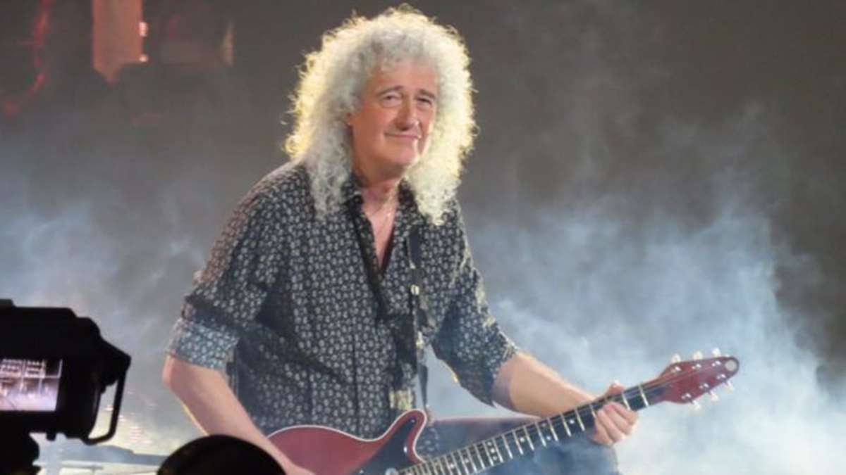 Brian May, guitarrista de la mítica banda Queen