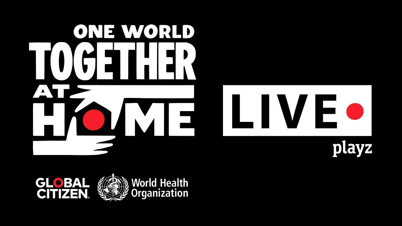 Transmisión en vivo One World Together at Home online live stream