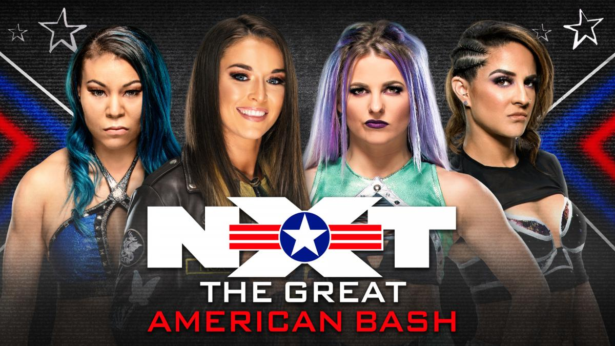 Mia Yim vs Tegan Nox vs Candice LeRae vs Dakota Kai en TGAB (WWE)