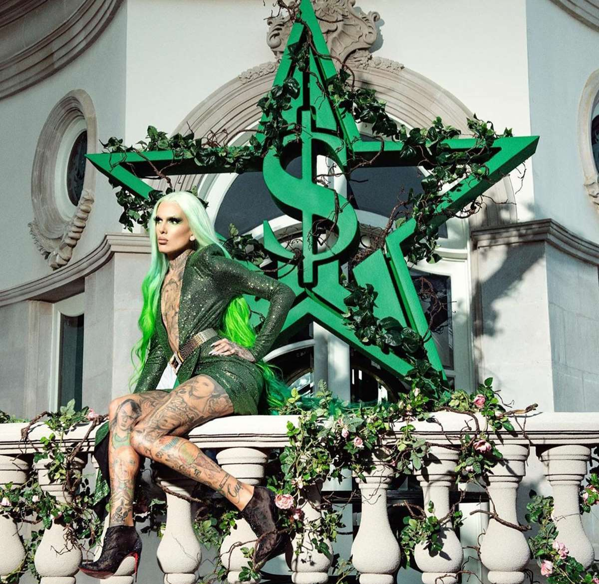 Jeffree Star se pasa al verde