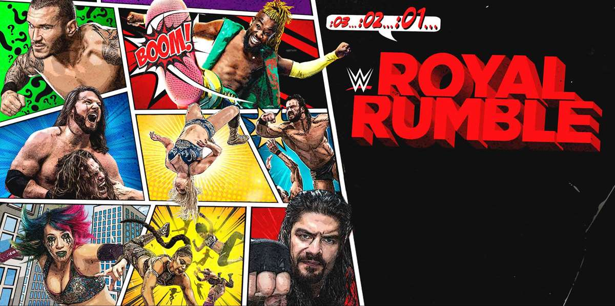 WWE: Cartelera final Royal Rumble 2021
