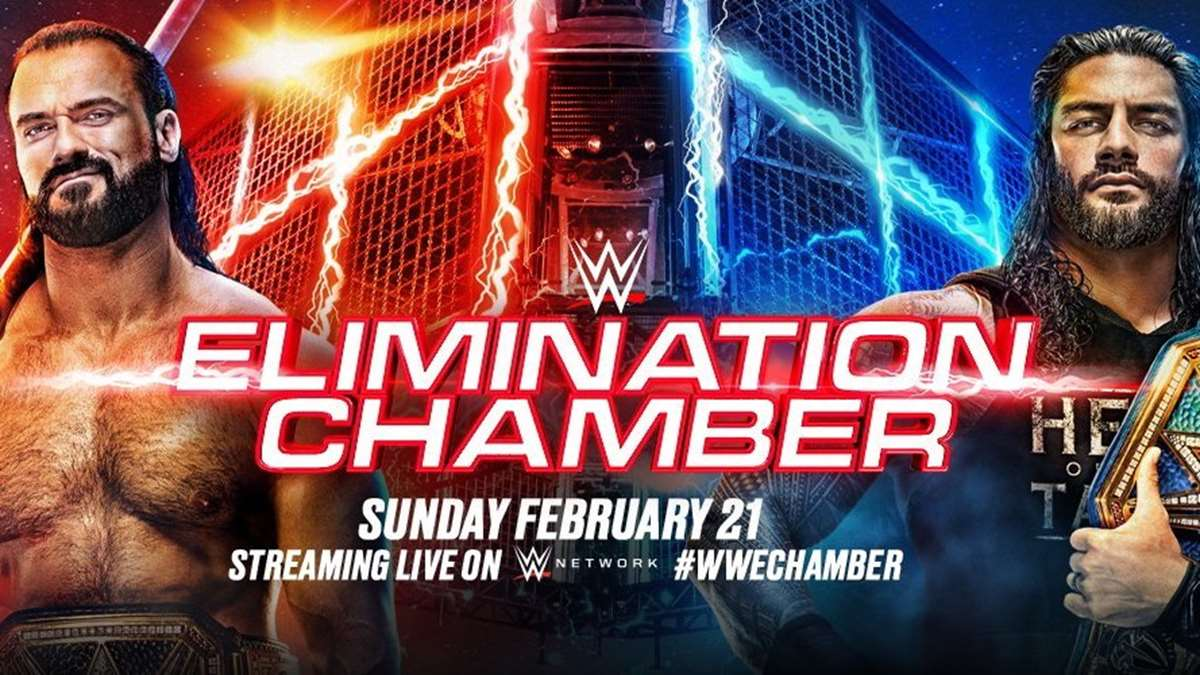 WWE: Cartelera final Elimination Chamber 2021