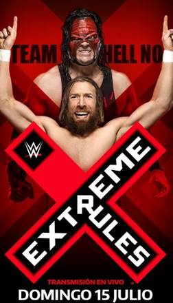 WWE: Extreme Rules 2018 resultados