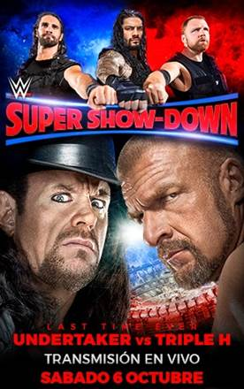 WWE: Cartelera final Super Show-Down