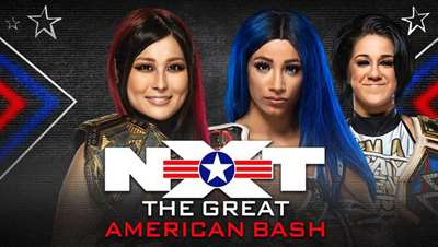 WWE: Io Shirai vence a Sasha Banks en The Great American Bash