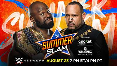 WWE: Apollo Crews retiene el Campeonato de USA en SummerSlam 2020