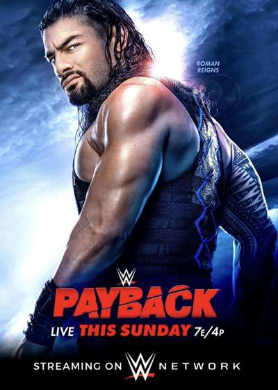 WWE: Cartelera final Payback 2020