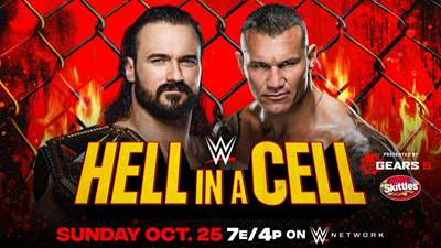WWE: Cartelera final Hell in a Cell 2020
