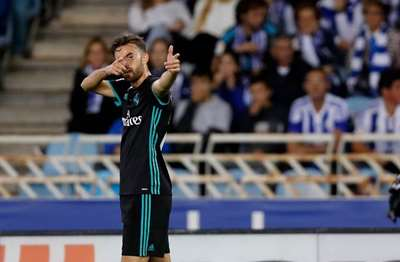 Mayoral y Bale desatascan al Real Madrid ante la Real Sociedad (VIDEO)